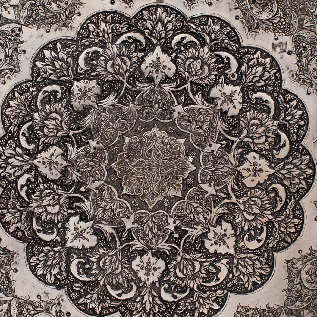 Persian Silver Hinged Box - 3