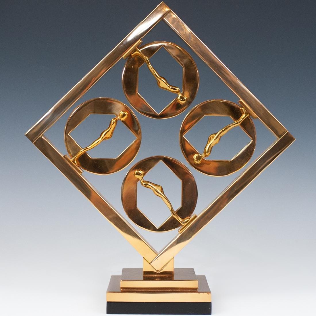 Ernest Trova (American.1927-2009) Bronze Sculpture