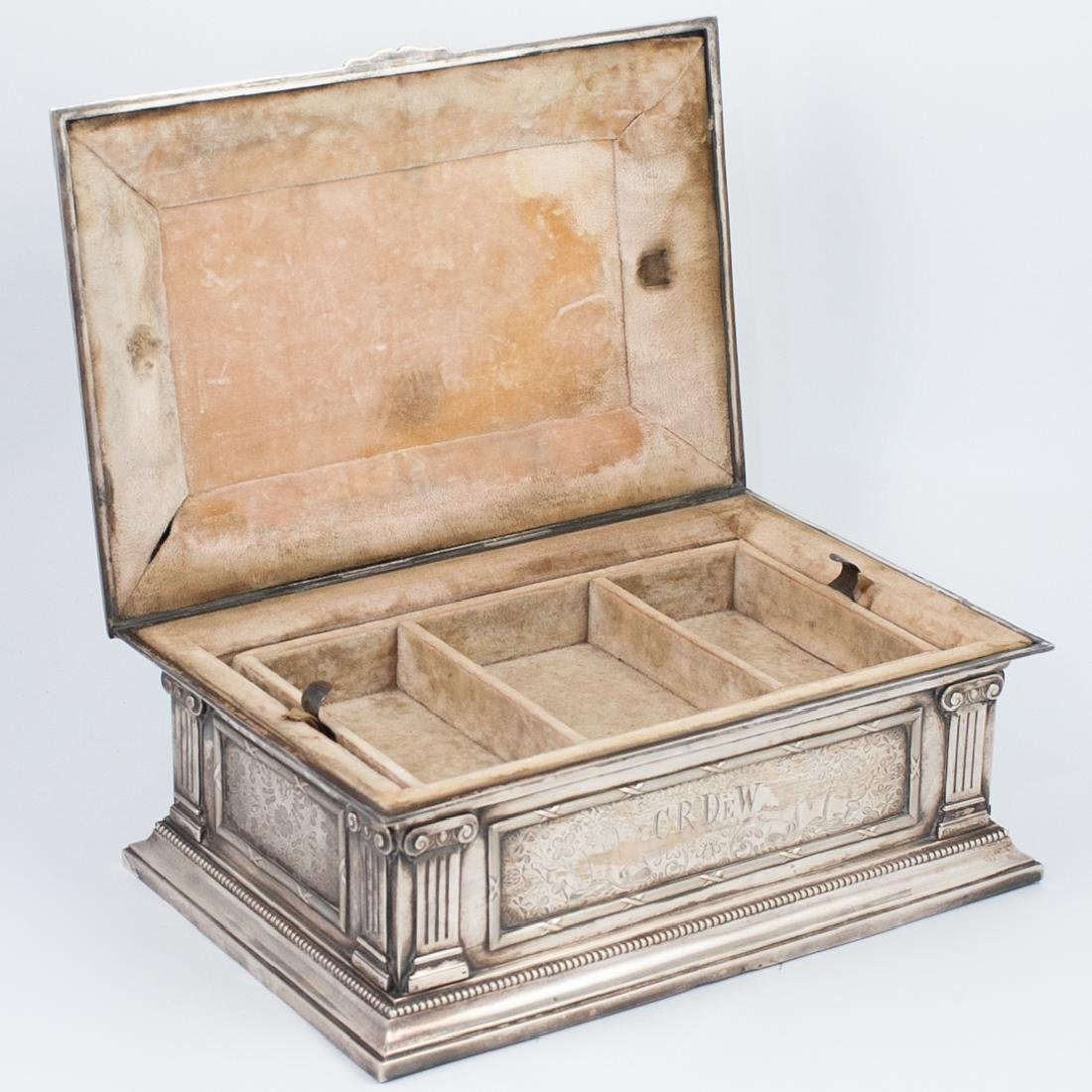 Antal Bachruch Antique Silver Jewelry Box - 10