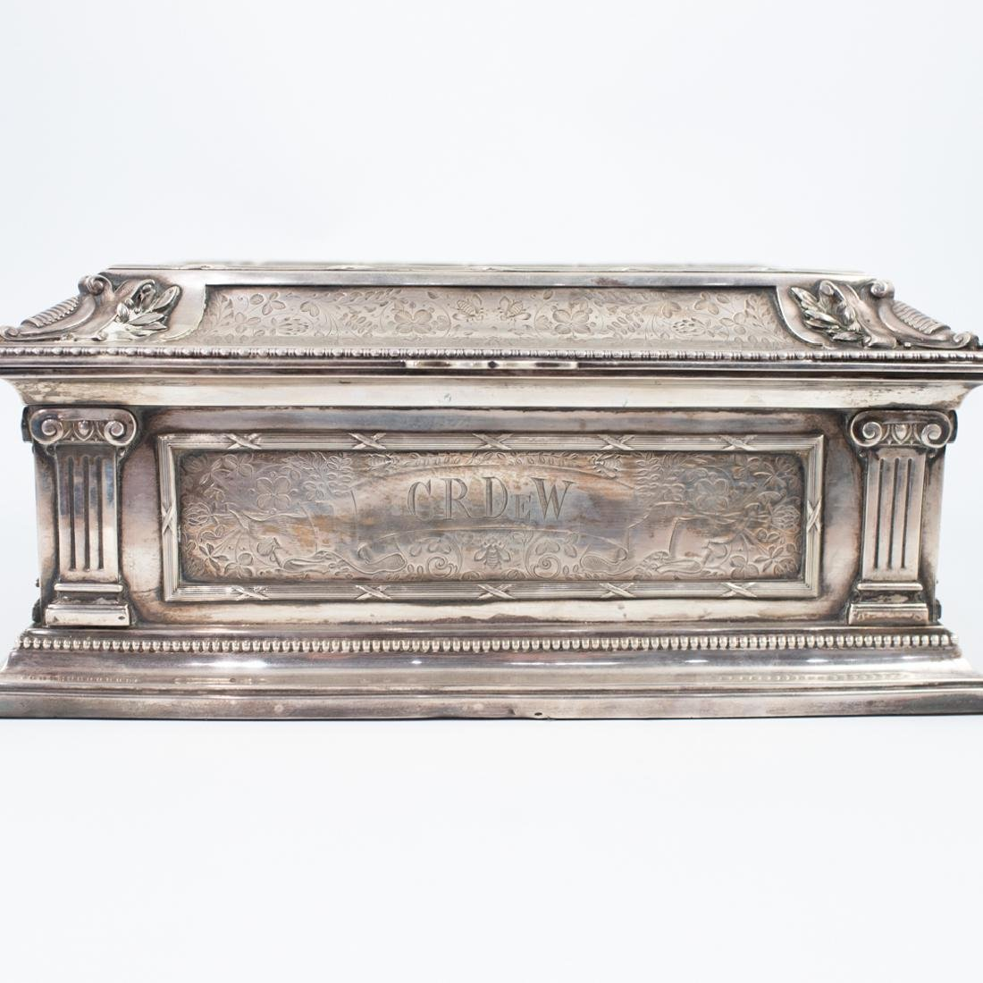 Antal Bachruch Antique Silver Jewelry Box - 2