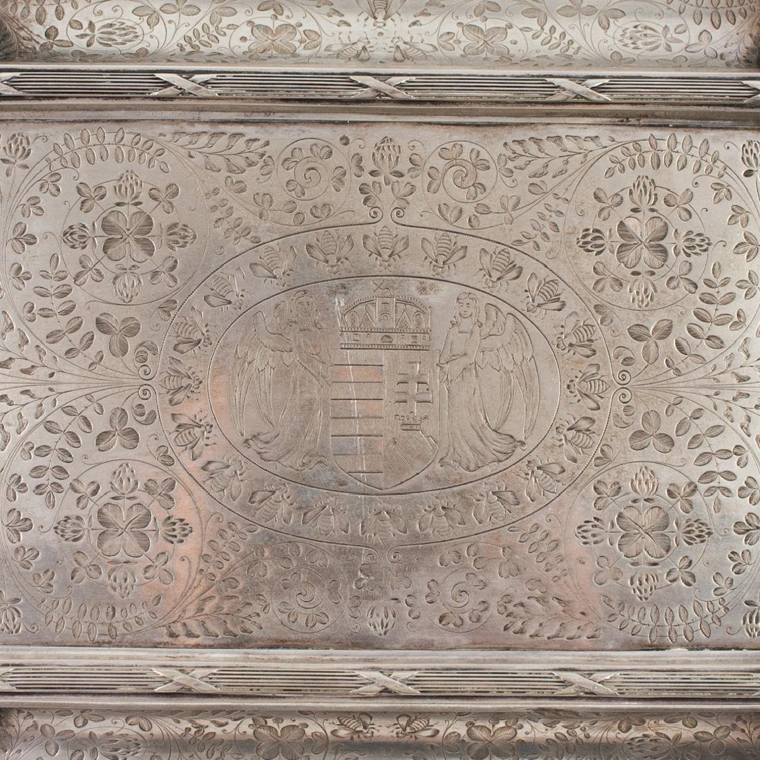 Antal Bachruch Antique Silver Jewelry Box - 3