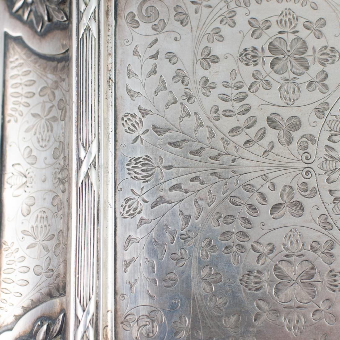 Antal Bachruch Antique Silver Jewelry Box - 6