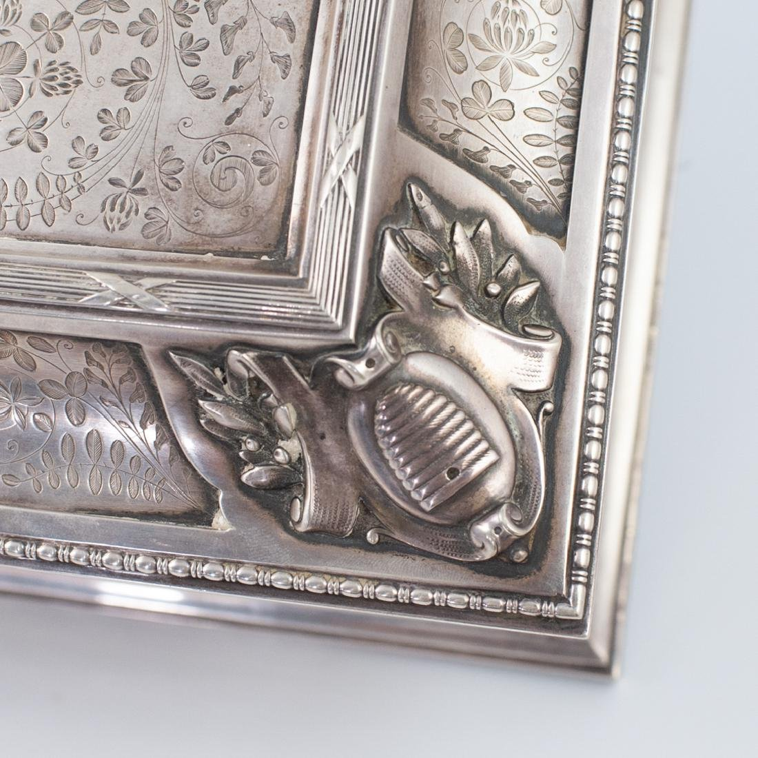 Antal Bachruch Antique Silver Jewelry Box - 7