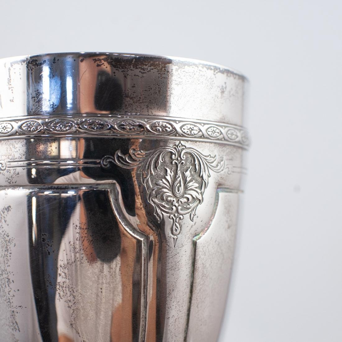 Pair of Louis XIV Sterling Silver Goblets - 3