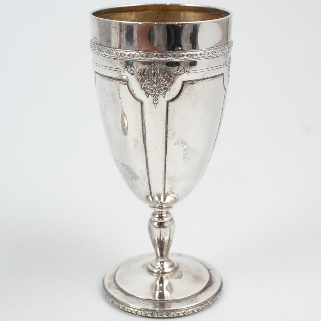 Pair of Louis XIV Sterling Silver Goblets - 5