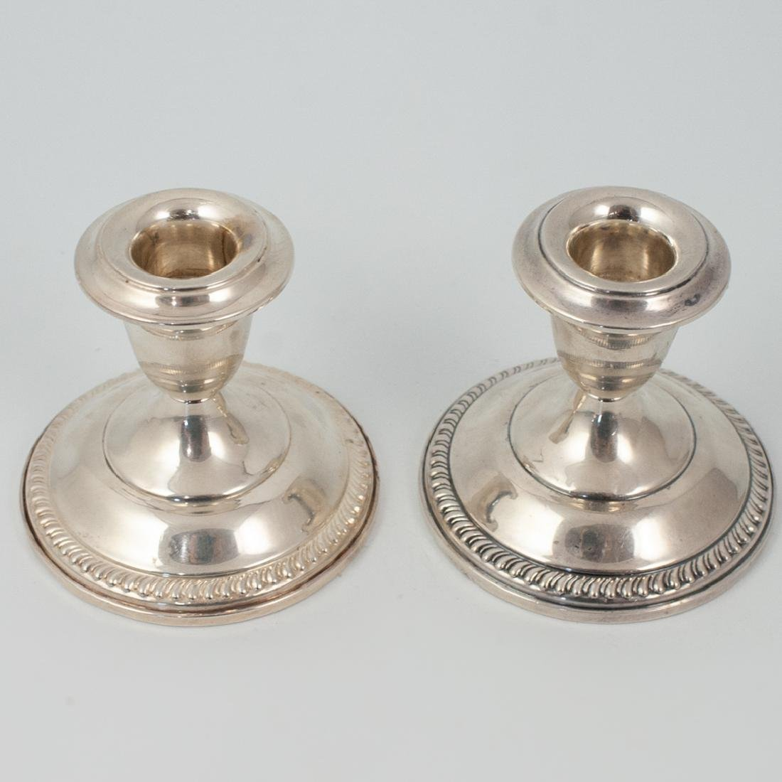 Empire Sterling Weighted Candlesticks - 3