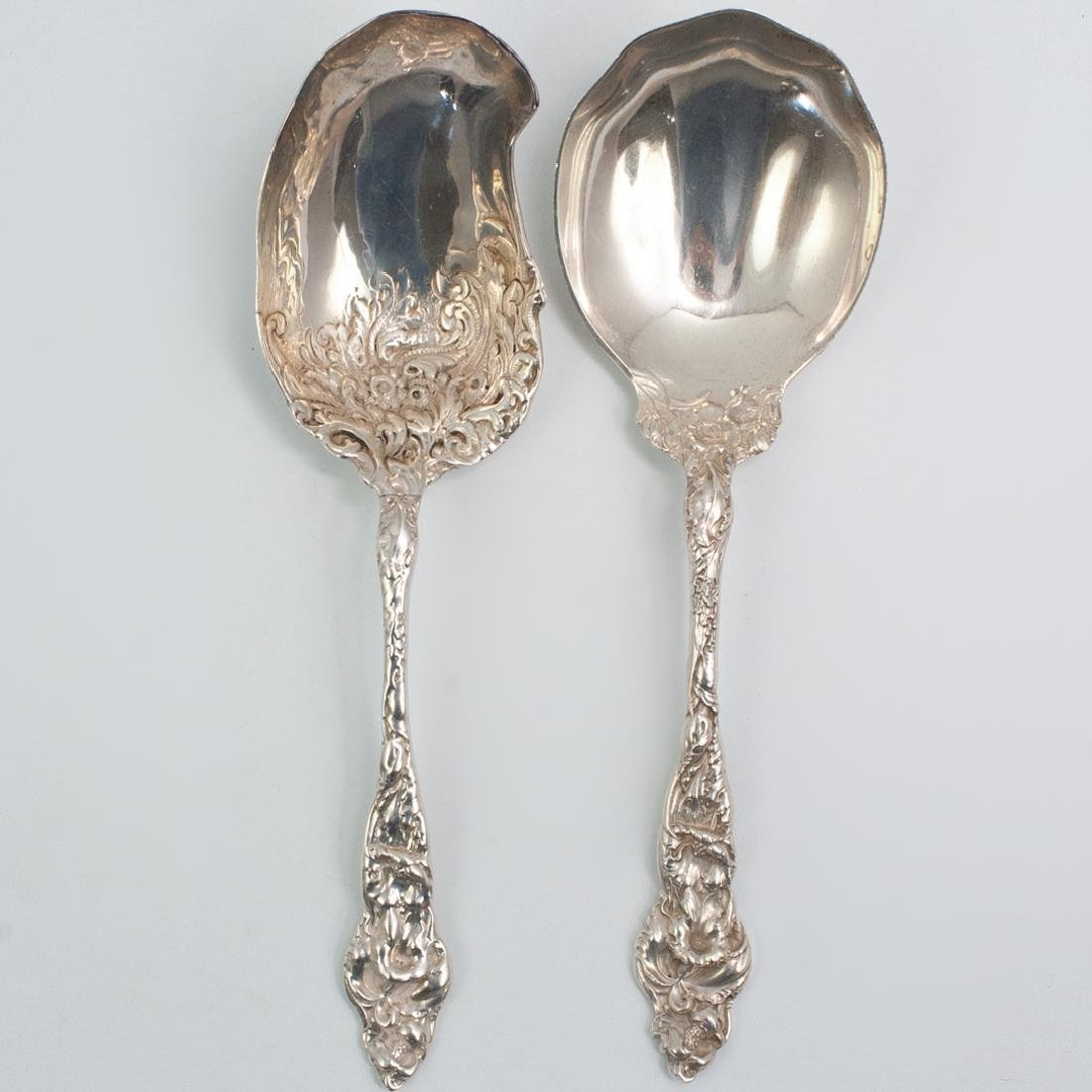 (2 Pc) Reed and Barton Sterling Silver Spoons