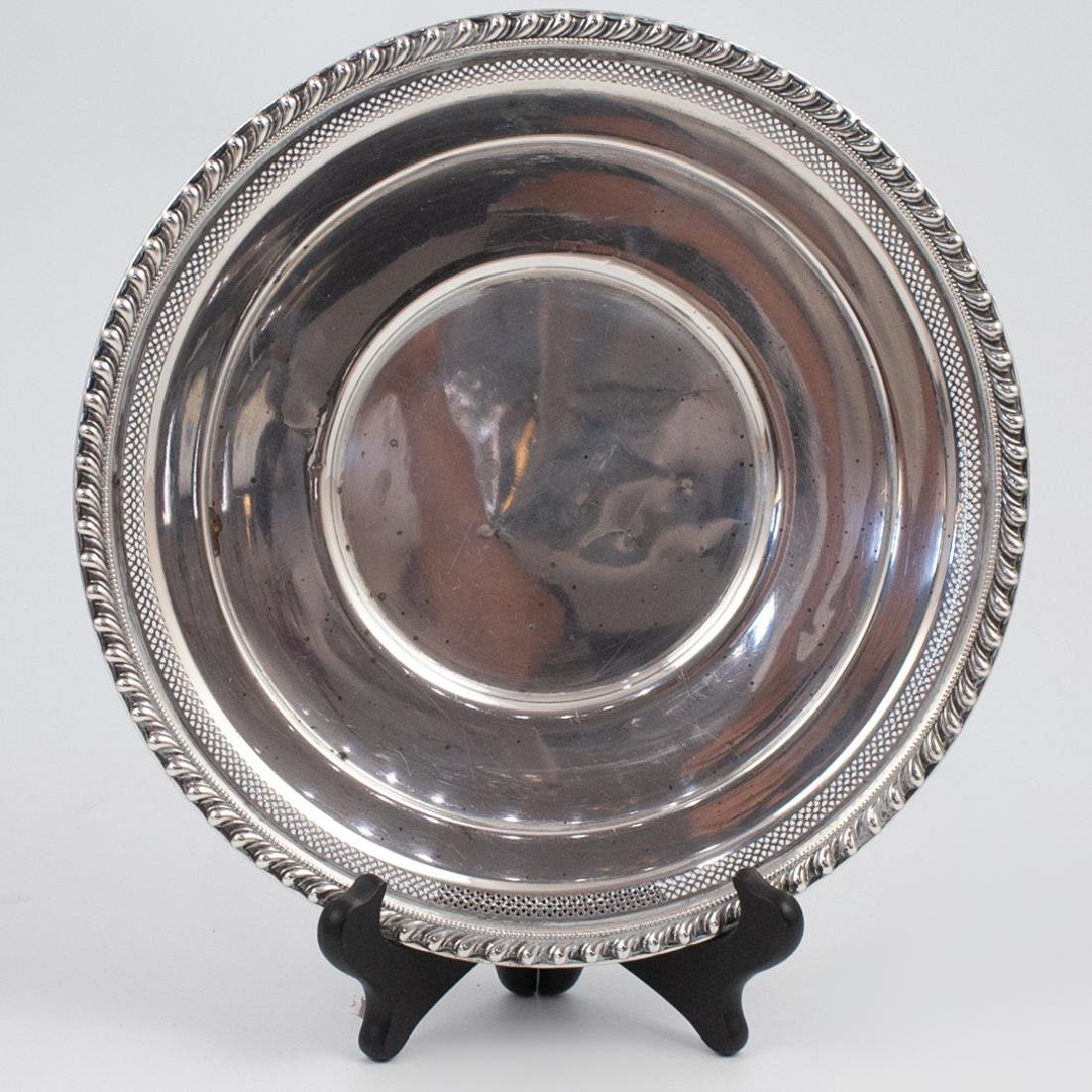 American Sterling Silver Serving Tray - 2