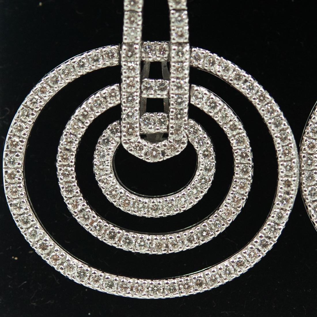 18k Gold and Diamond Earrings - 3