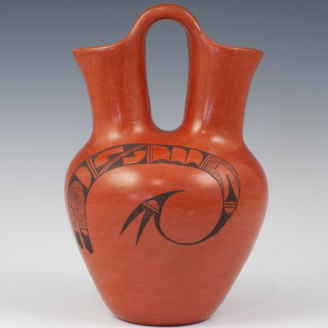 Clara Peesha Hopi Pottery Wedding Jug