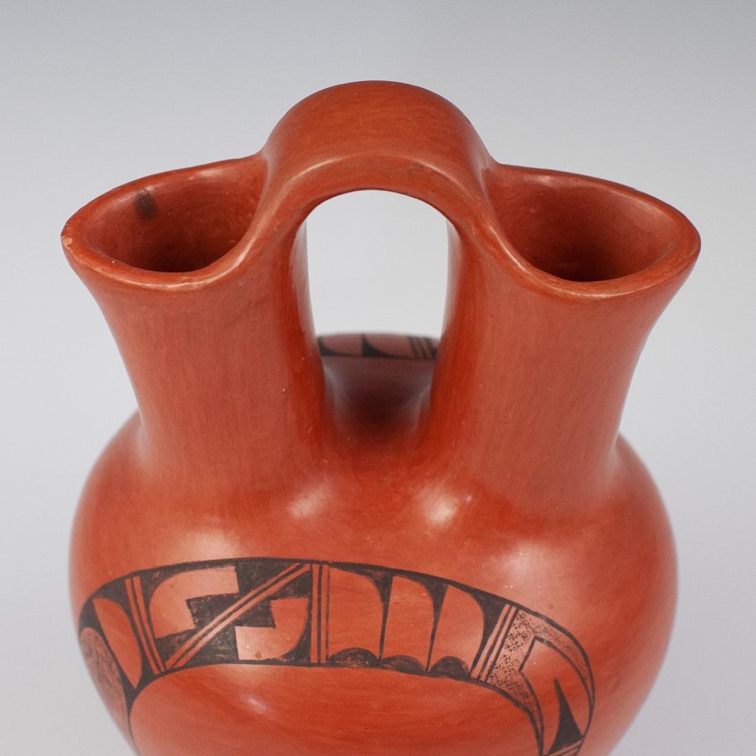 Clara Peesha Hopi Pottery Wedding Jug - 2