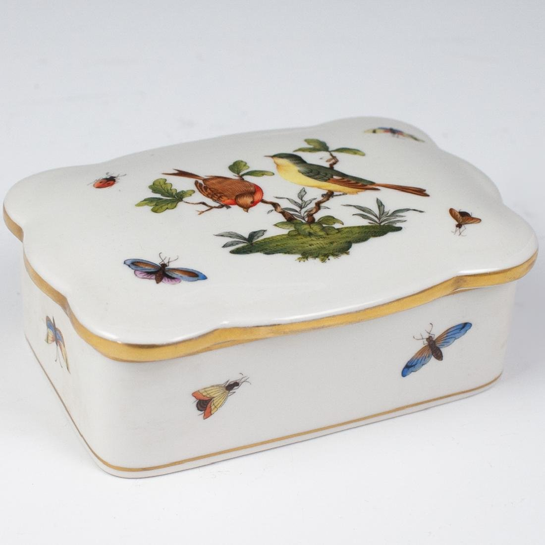Herend Porcelain Rothschild Trinket Box