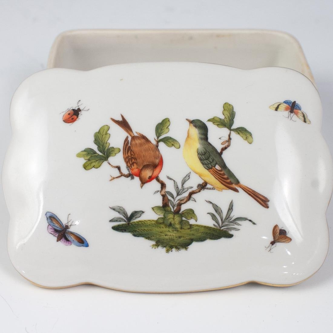 Herend Porcelain Rothschild Trinket Box - 2