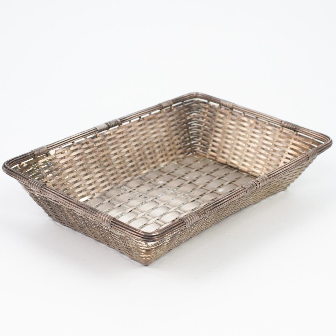 Christofle Silver-Plated Basket