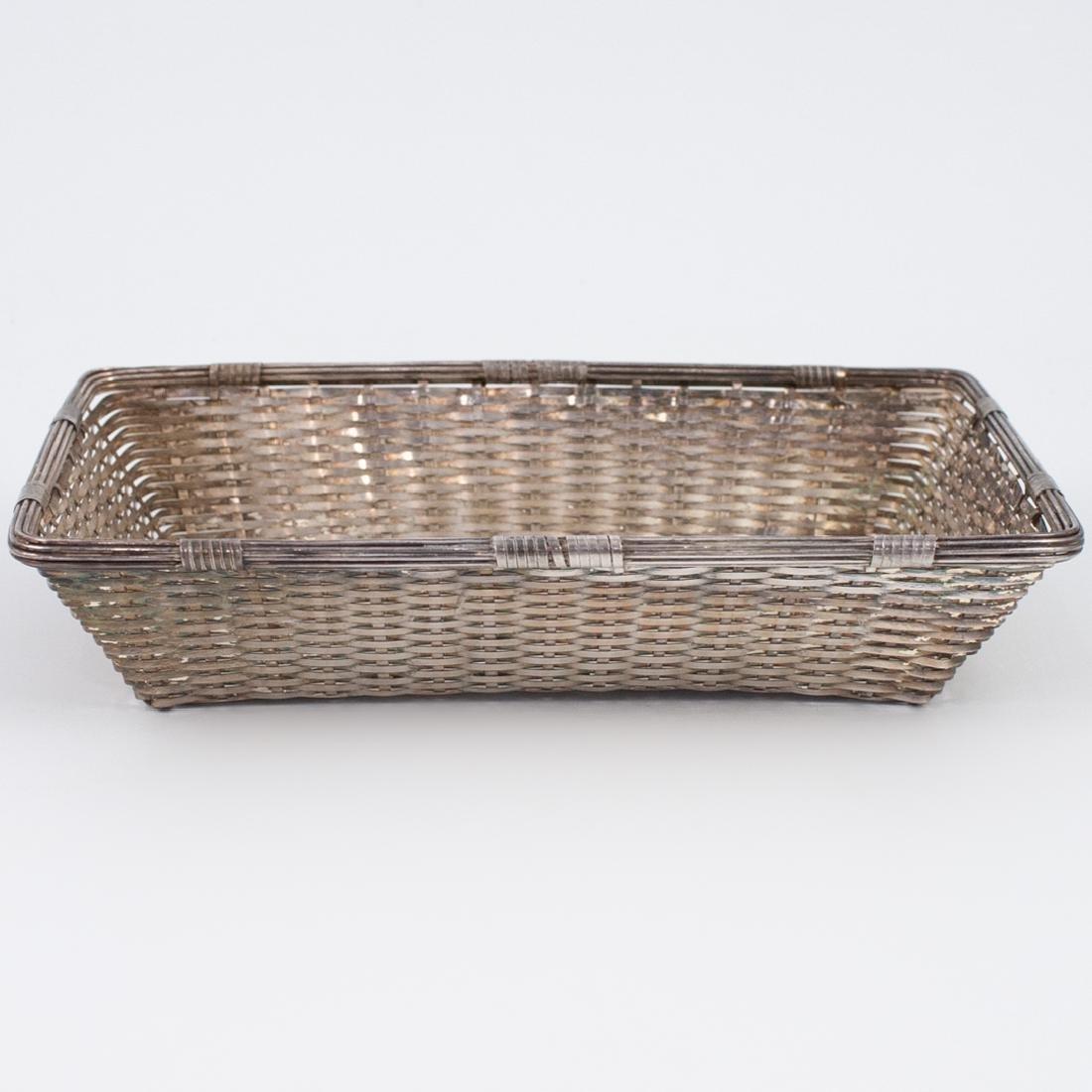Christofle Silver-Plated Basket - 2