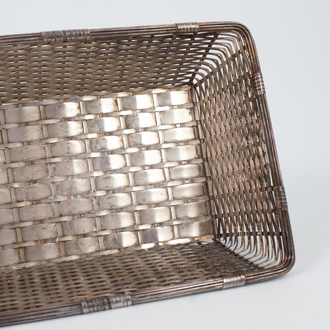 Christofle Silver-Plated Basket - 3