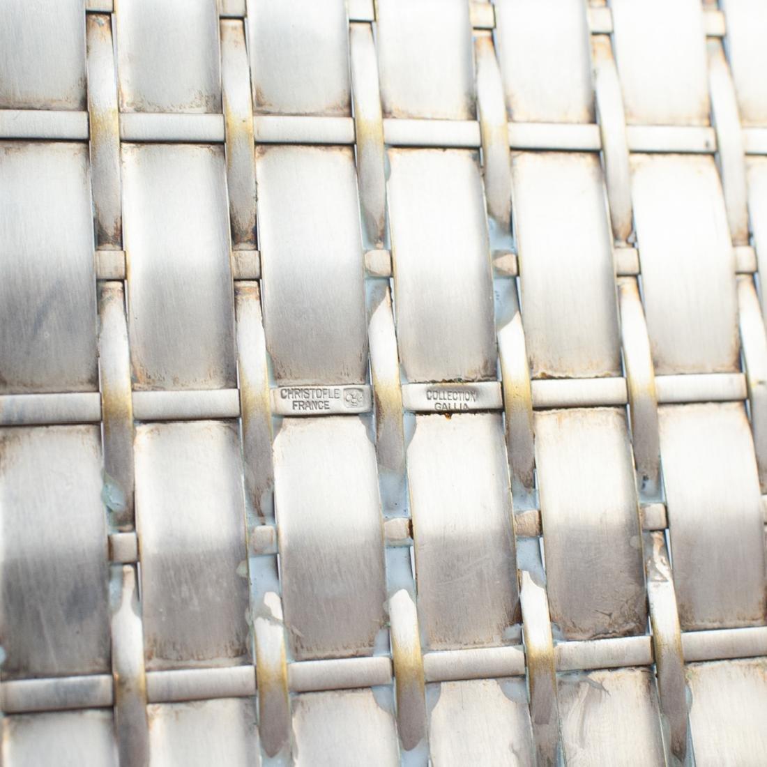 Christofle Silver-Plated Basket - 5