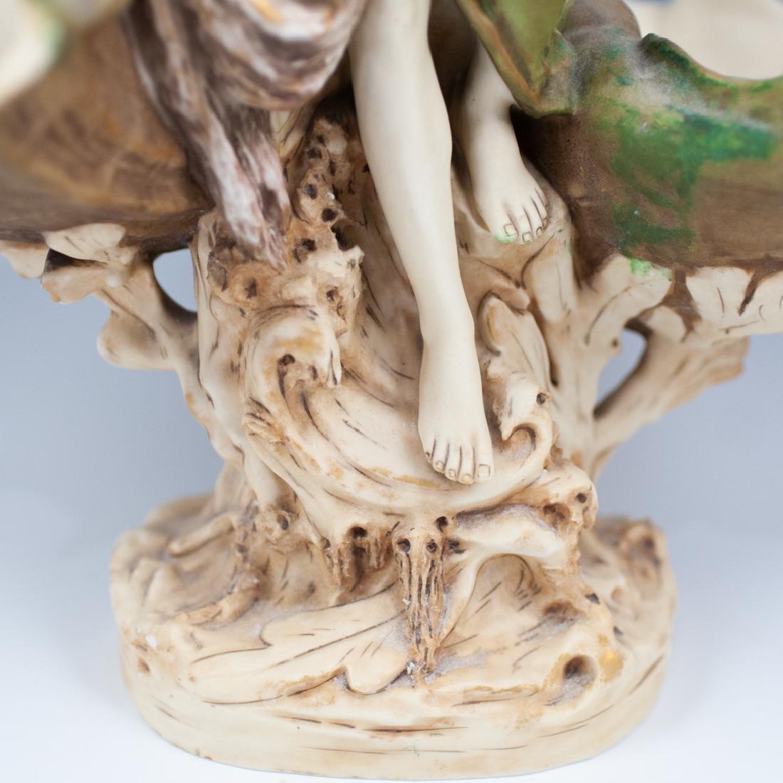 Art Nouveau Royal Dux Figural Centerpiece - 3