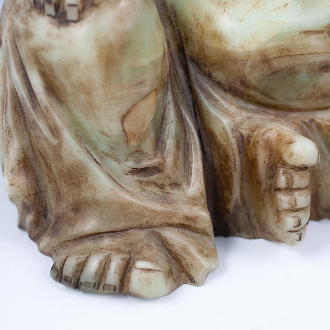 Chinese Jade Laughing Buddha - 4