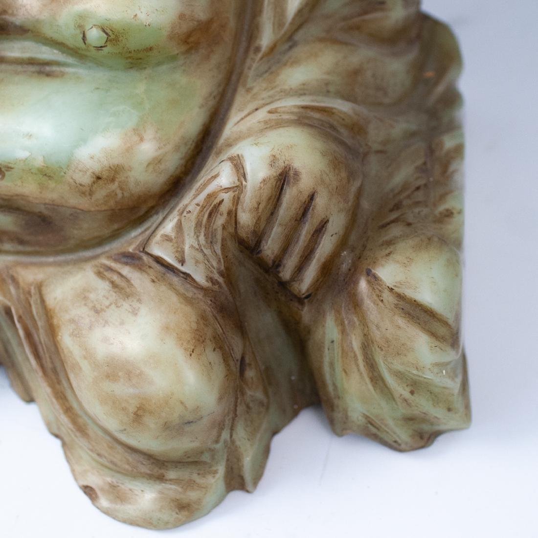Chinese Jade Laughing Buddha - 5