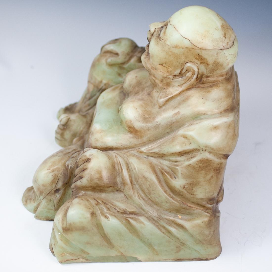 Chinese Jade Laughing Buddha - 6