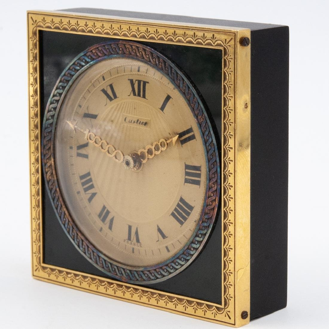Cartier Desk Clock - 2