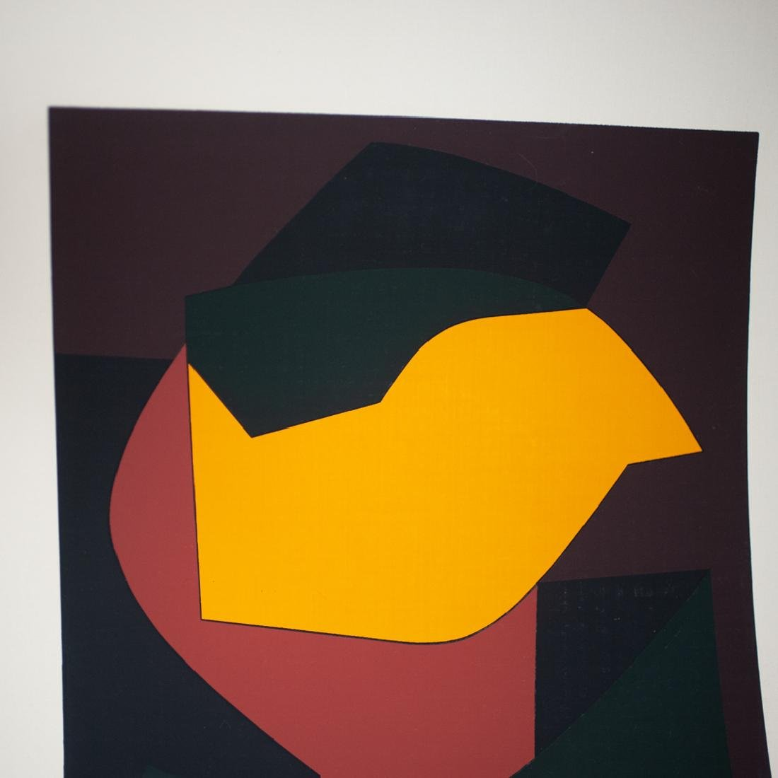 Victor Vasarely (Hungary/France,1906-1997) Screen Print - 3
