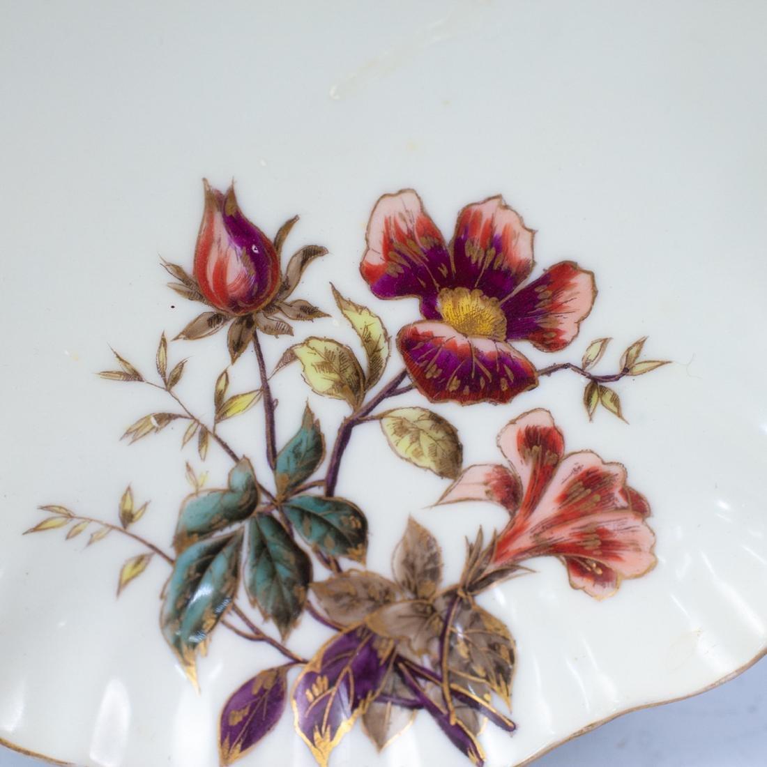 Limoges Porcelain Floral Serving Bowl - 2