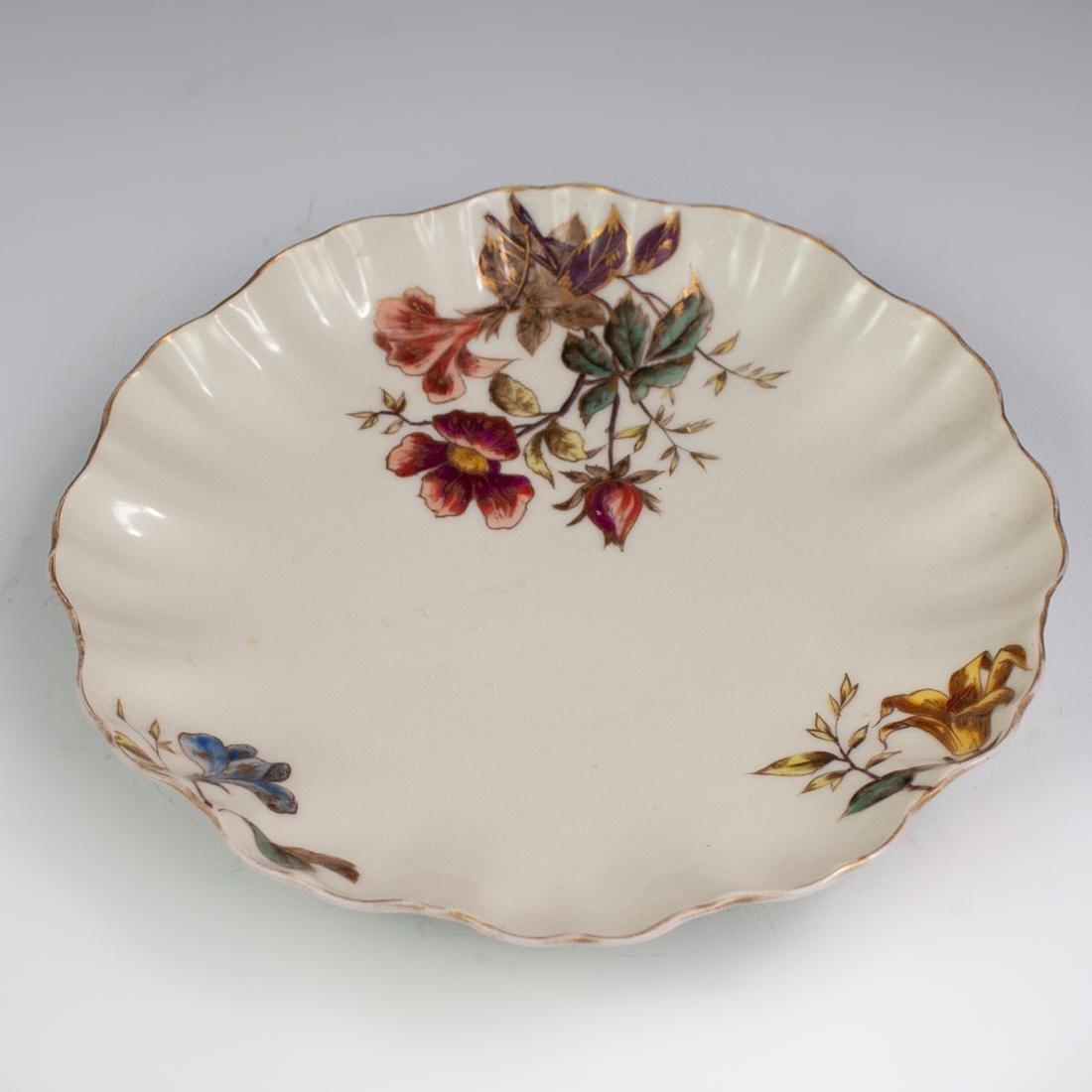 Limoges Porcelain Floral Serving Bowl - 4