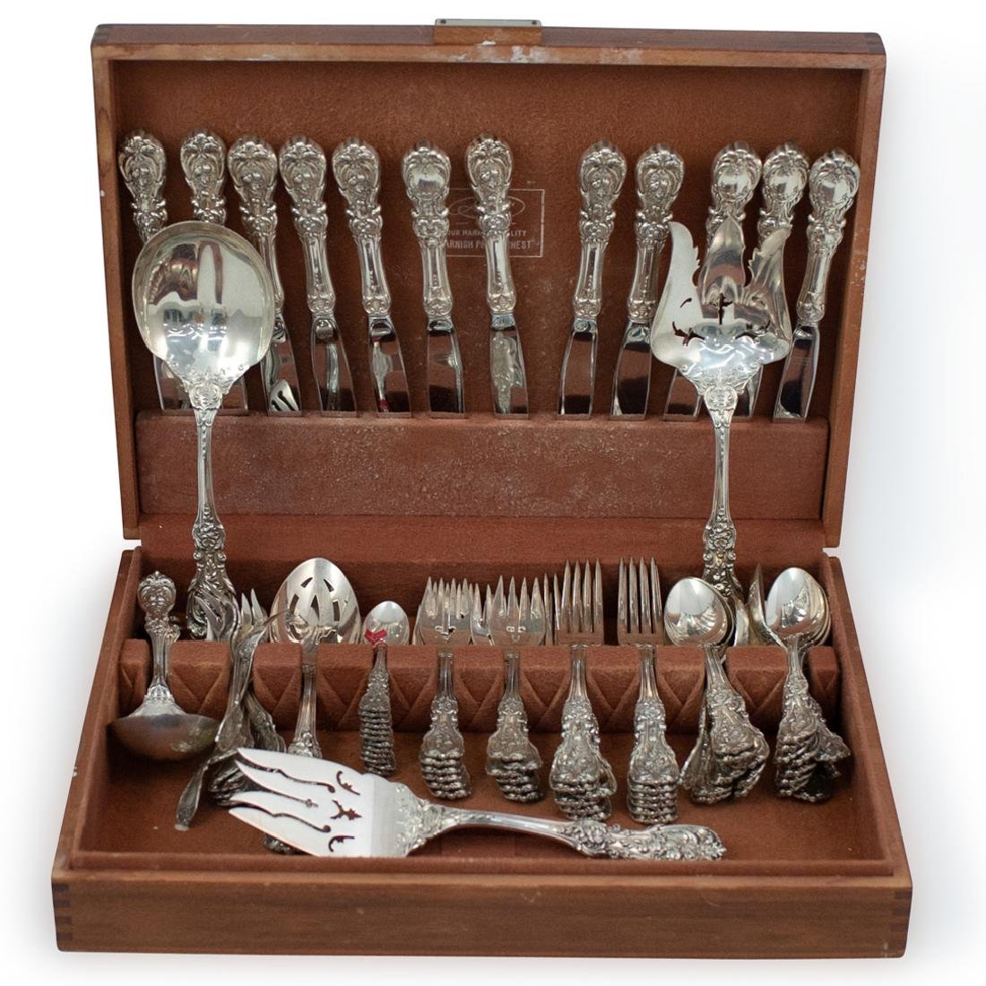 (91 Pc) Reed and Barton Sterling Flatware Service