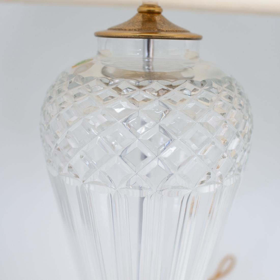 Pair of Waterford Crystal Lamps - 2