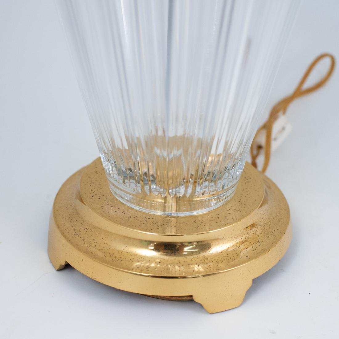 Pair of Waterford Crystal Lamps - 3