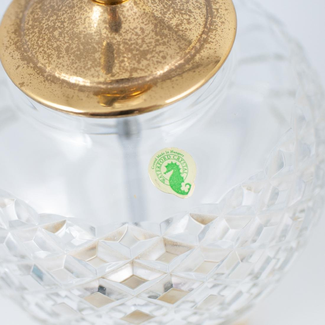 Pair of Waterford Crystal Lamps - 5