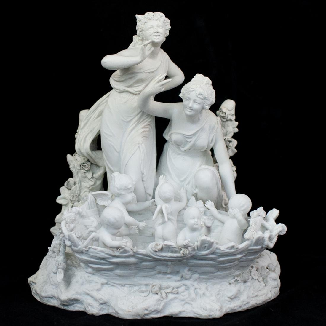 Sevres Biscuit Figural Group