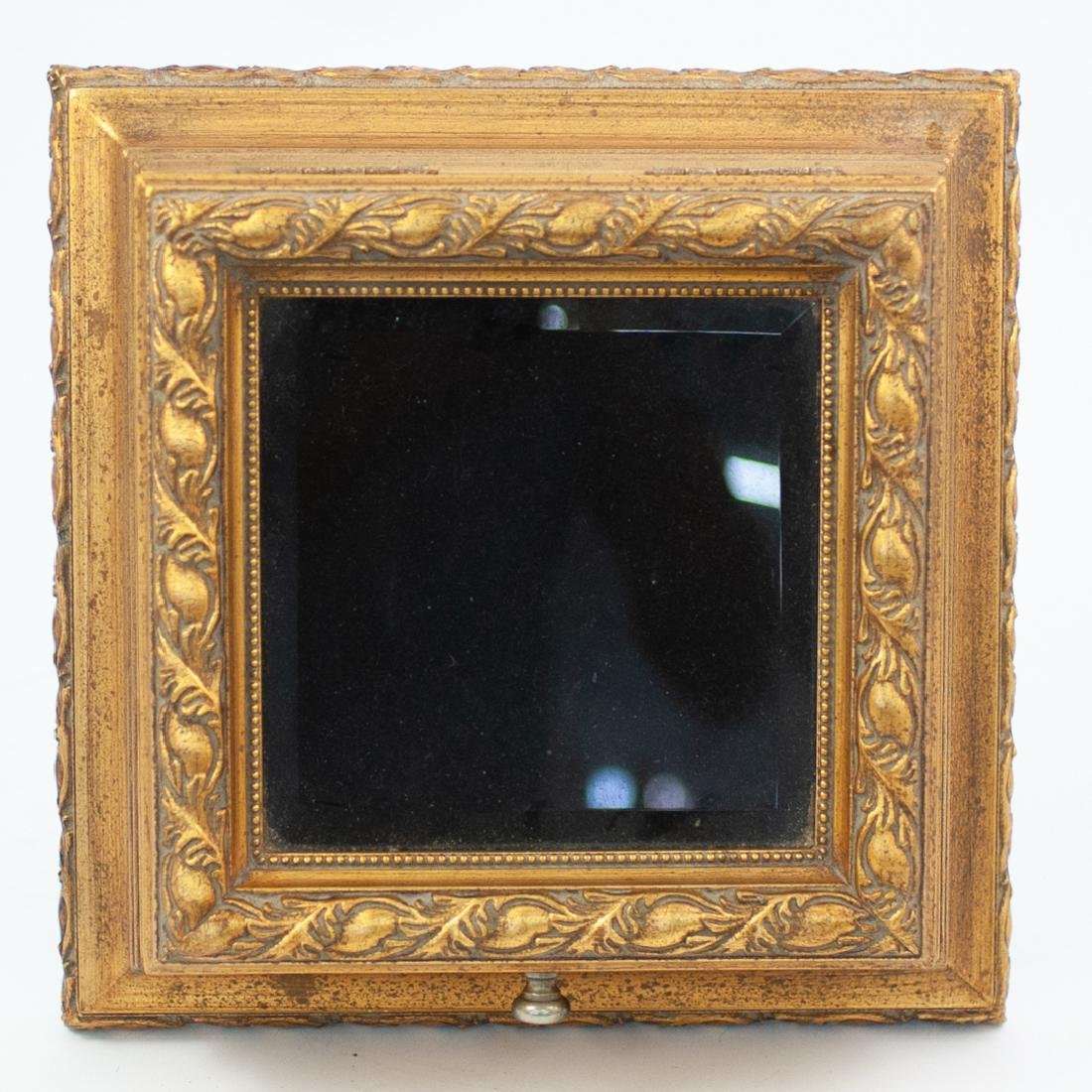 Carved Giltwood and Mirror Box