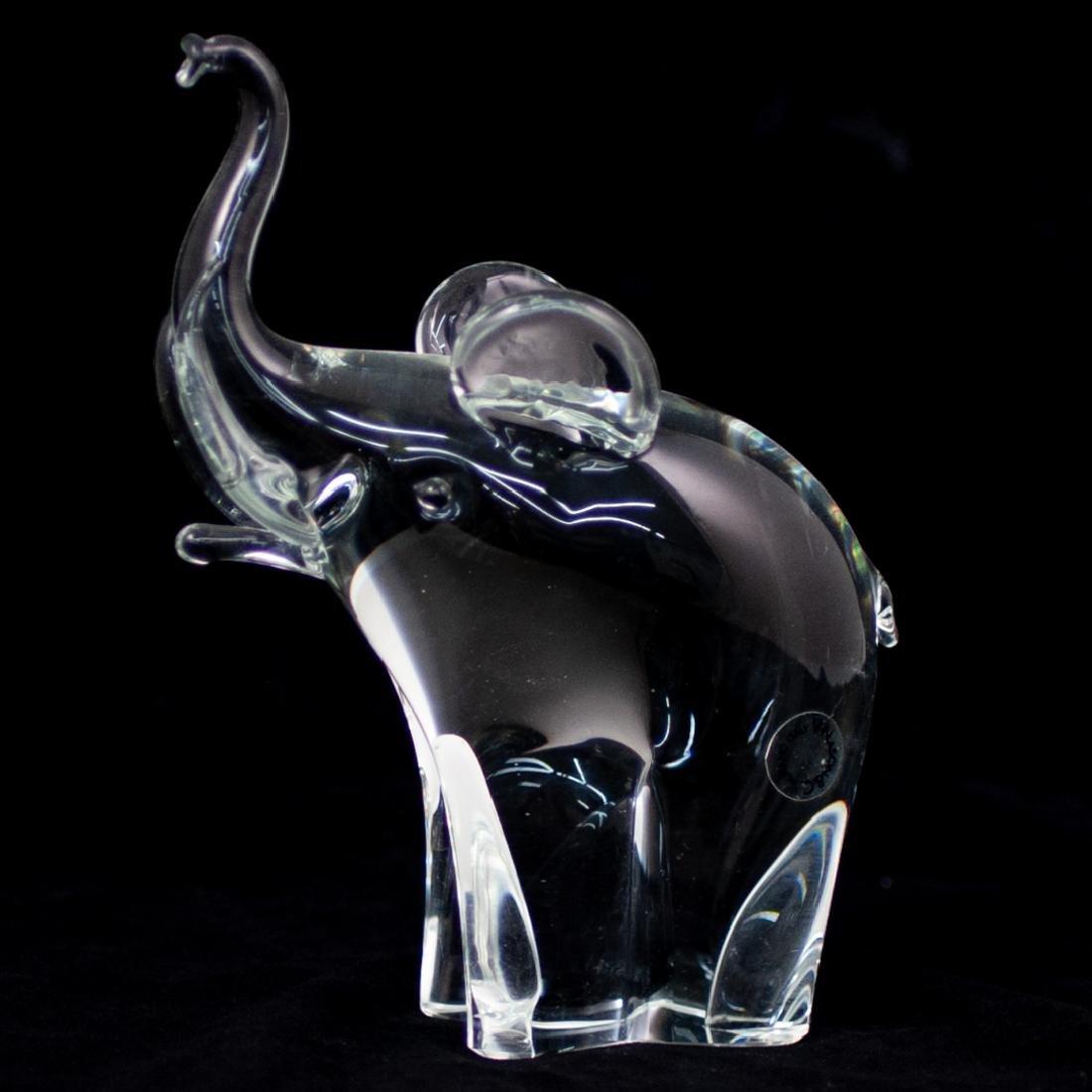 V. Nason & Co Murano Glass Elephant Sculpture