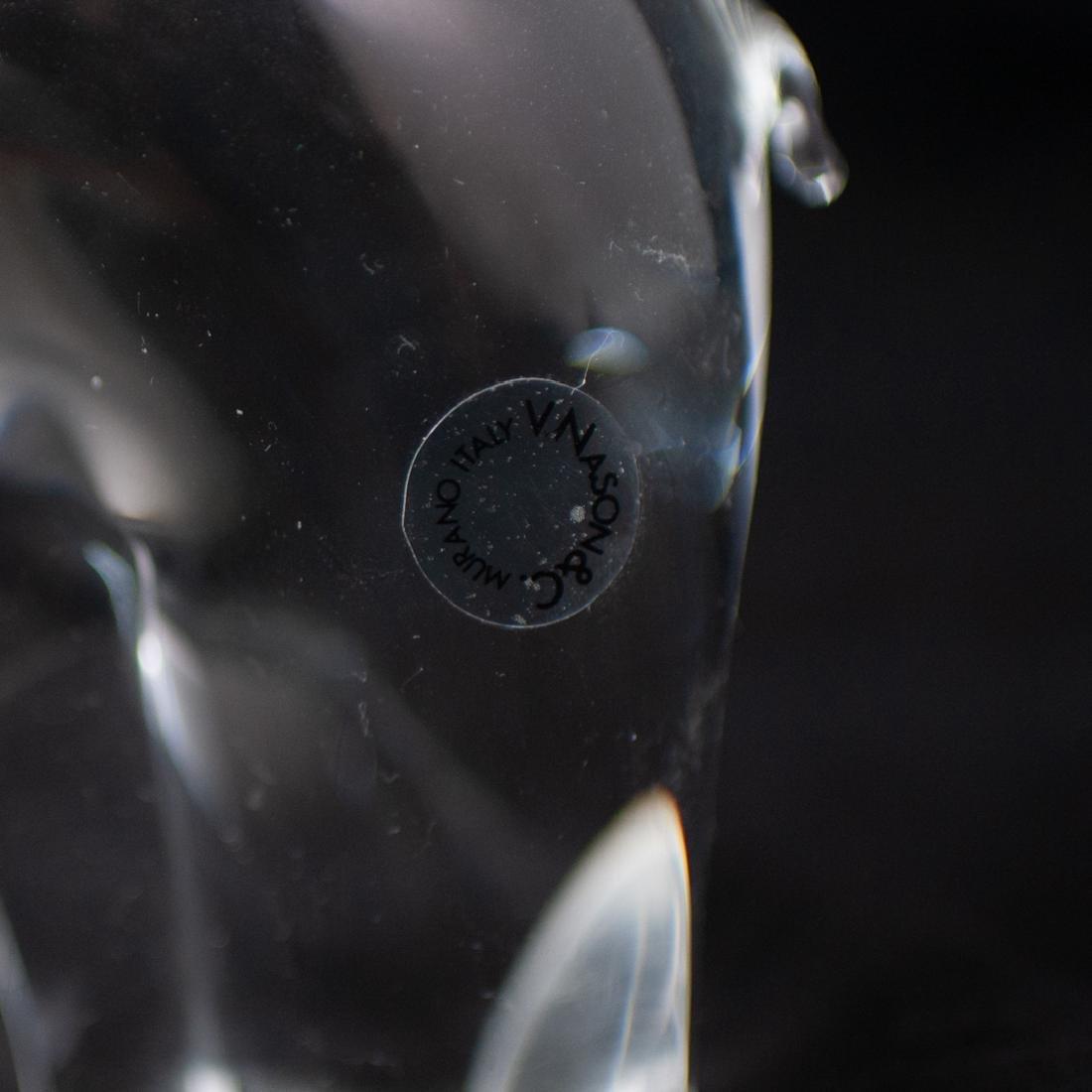 V. Nason & Co Murano Glass Elephant Sculpture - 2