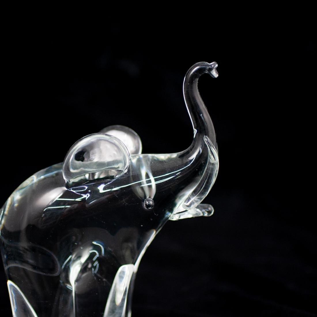 V. Nason & Co Murano Glass Elephant Sculpture - 3