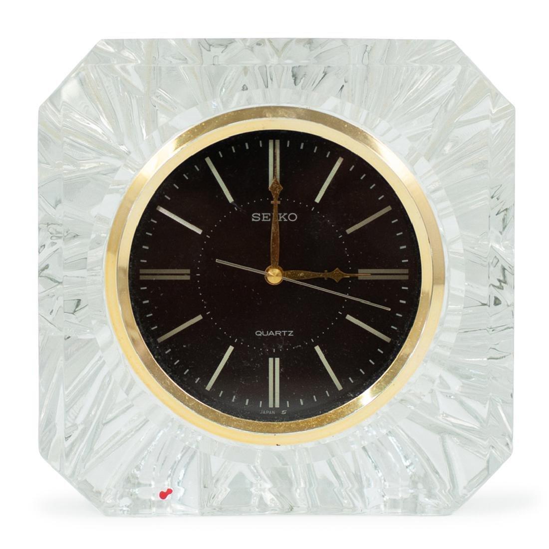 Seiko Crystal Desk Clock