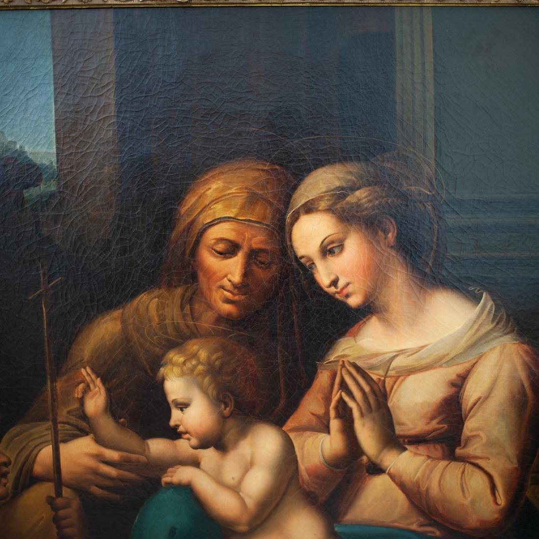 """Madonna of the Divine Love"" Oil Painting in the Manner - 2"