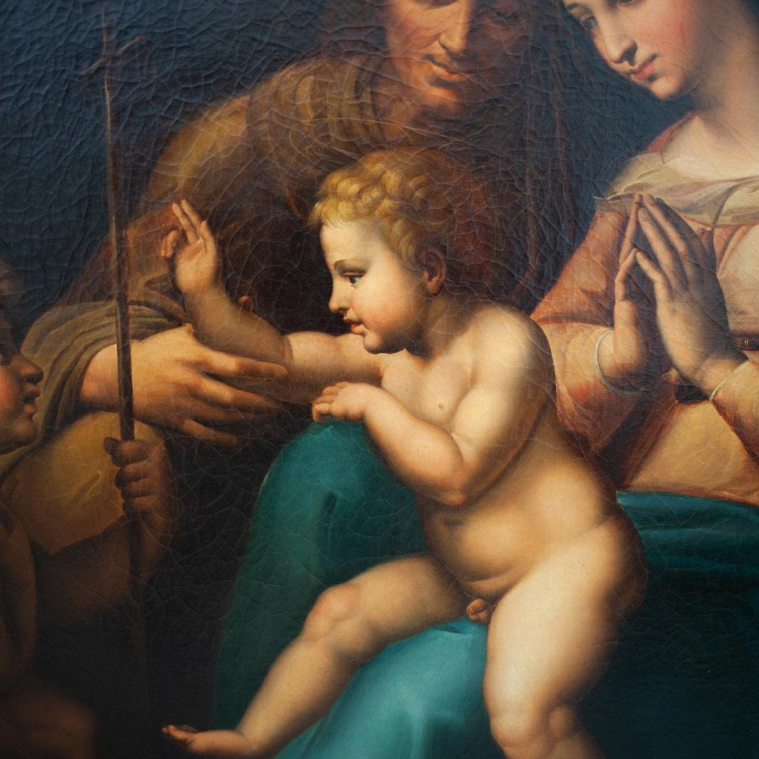 """Madonna of the Divine Love"" Oil Painting in the Manner - 4"