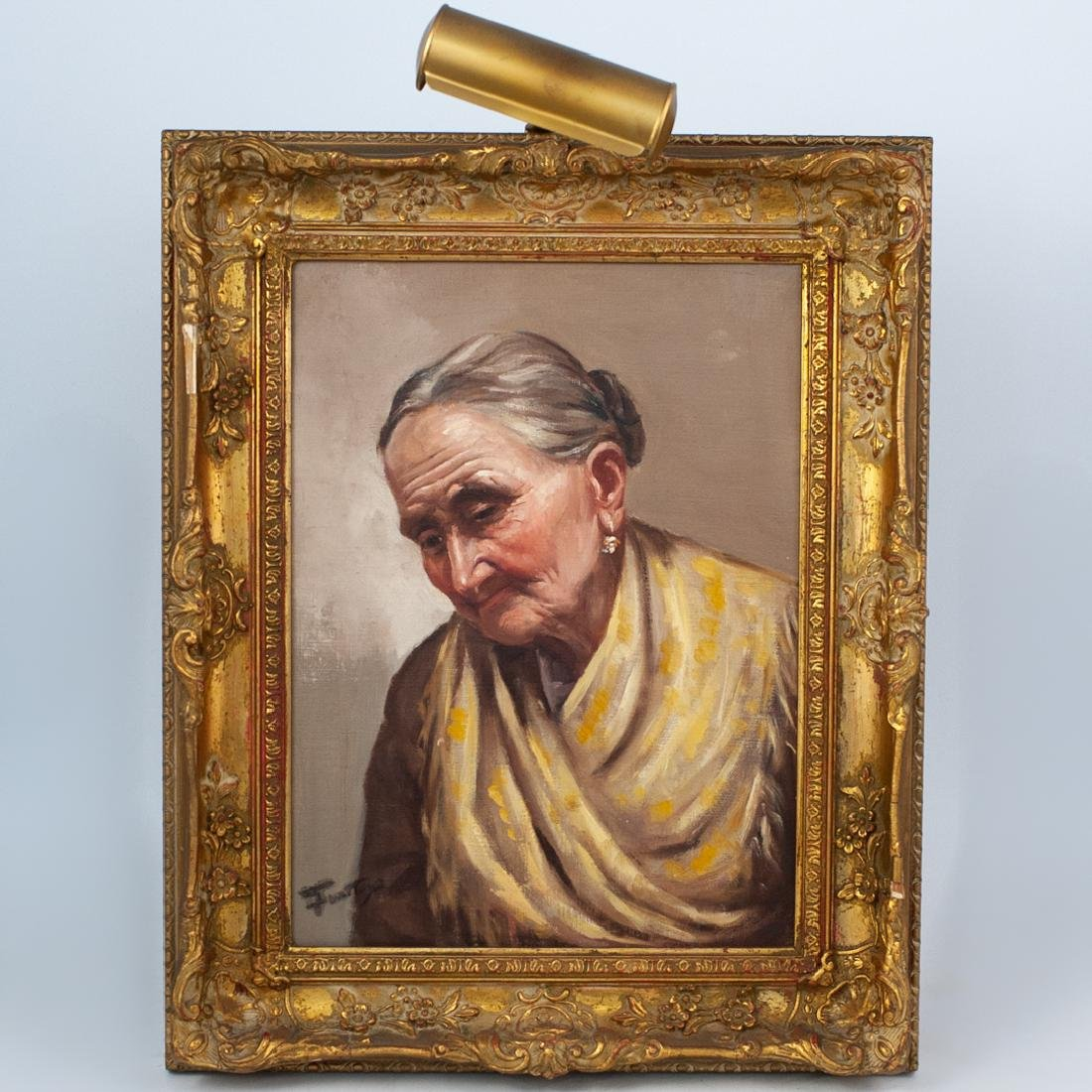 Enrico Frattini (Italian, 1890-1968) Portrait of a