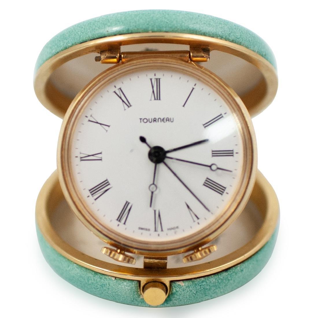 Halcyon Days Enamel Compact Watch
