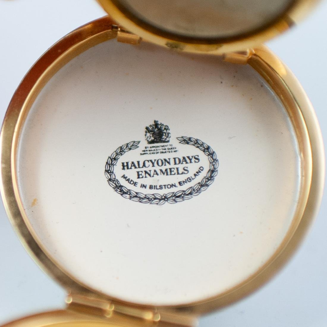 Halcyon Days Enamel Compact Watch - 2