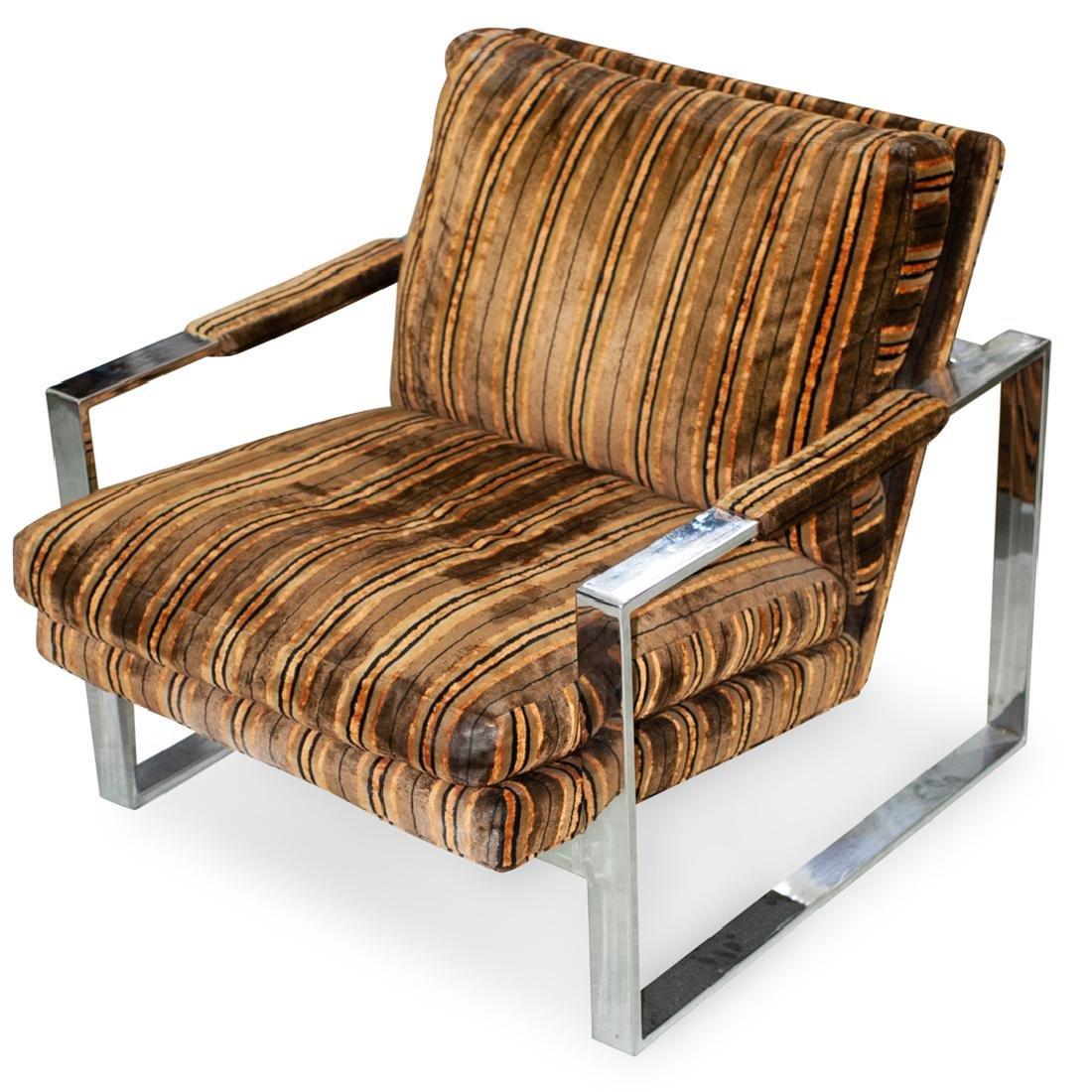 Maurice Villency Chrome Chair