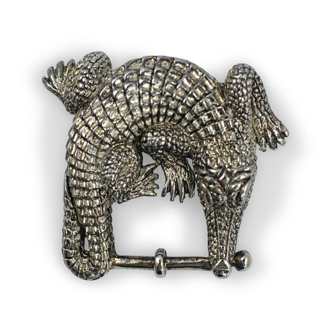Barry Kieselstein Cord Sterling Belt Buckle