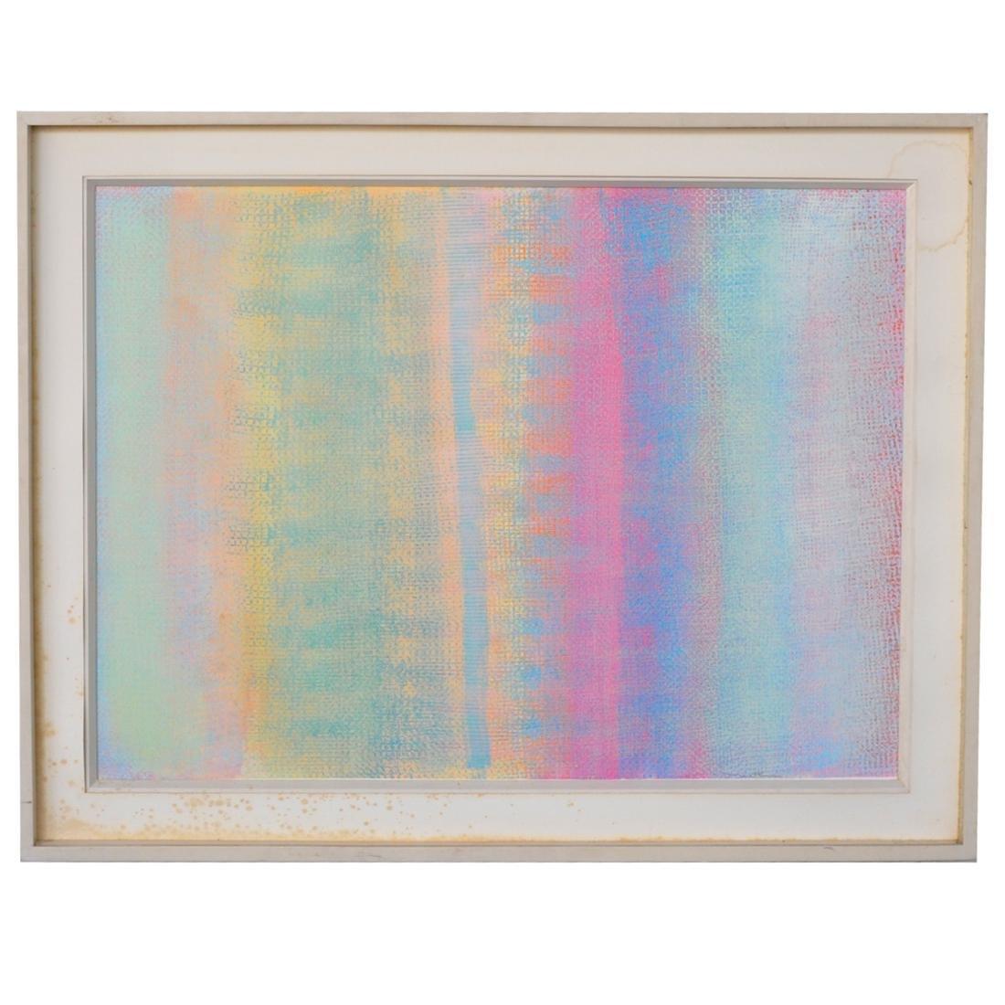 Robert Natkin (American, 1928-2010) Acrylic Painting