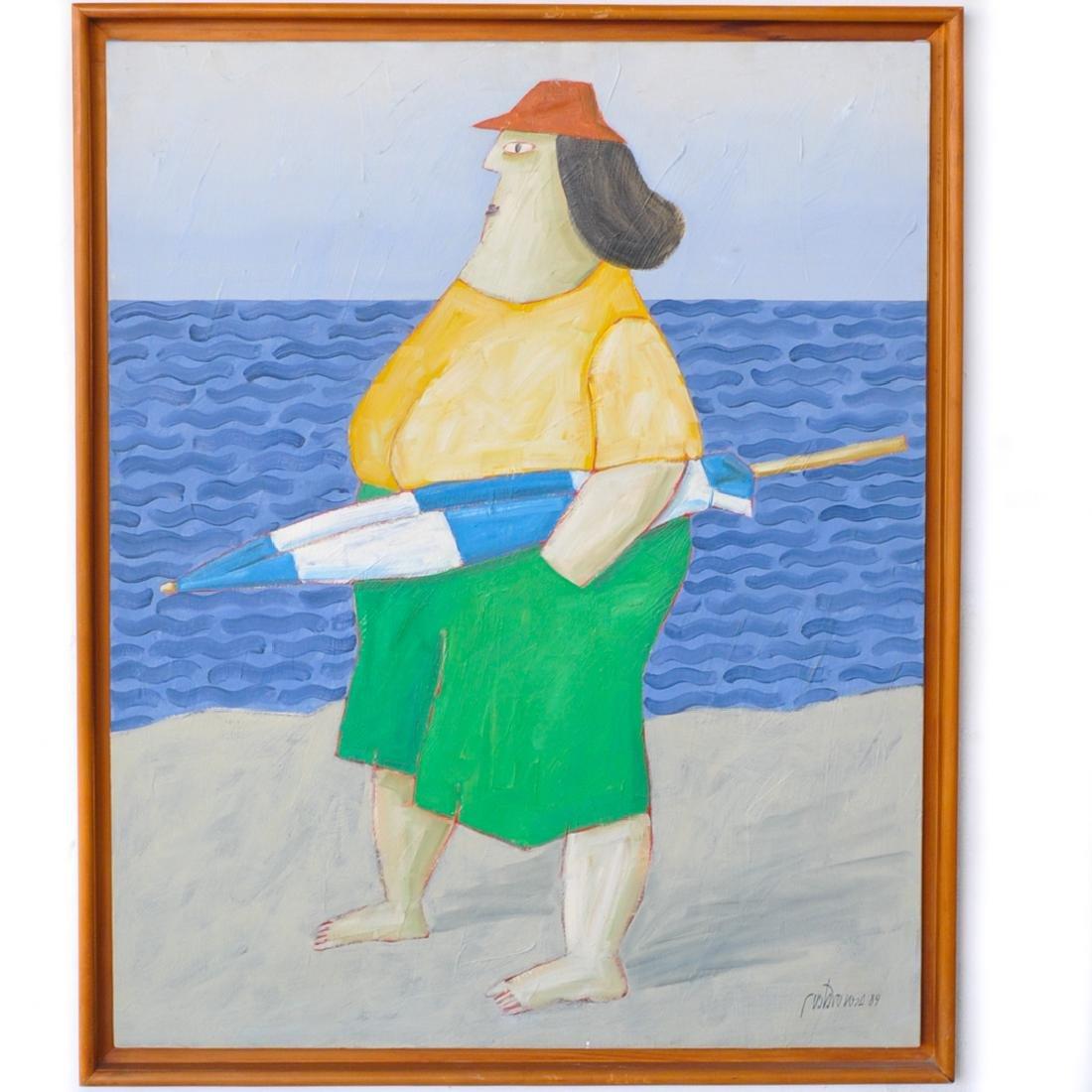 Gustavo Rosa (Brazilian, 1946-2013) Oil Painting