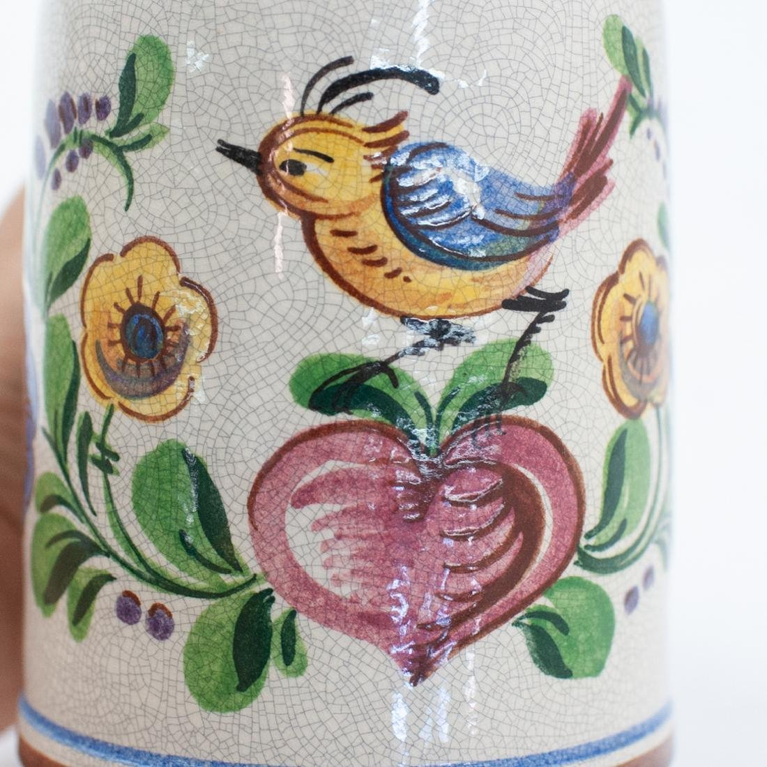 (2 Pc) German Ceramic Beer Steins - 5