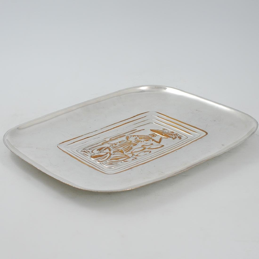 Tropical International Silver Tray - 4